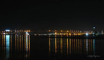 old mactan bridge by eddypua