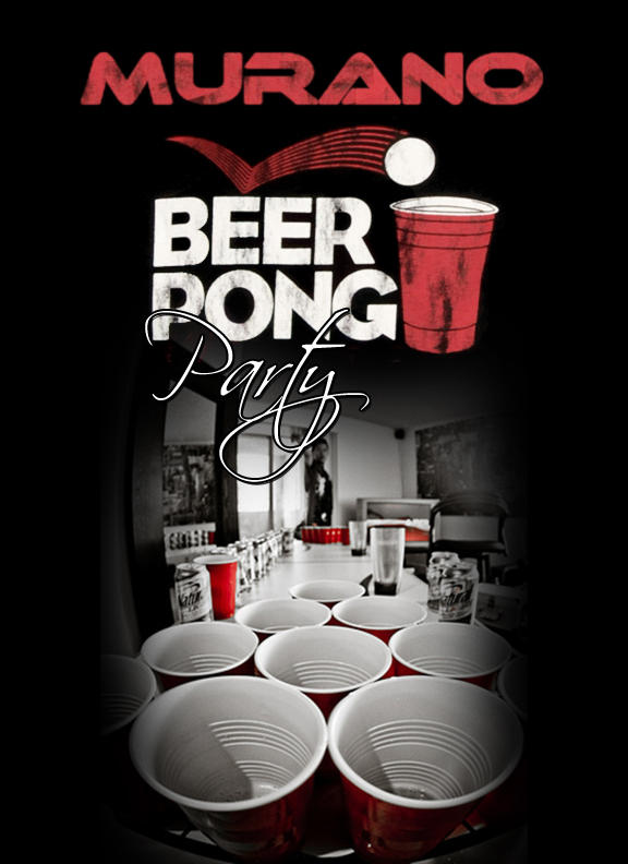 Beer Pong Flyer By S1lv3r Bg