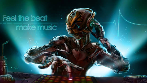 Robot can make music by tcheky199