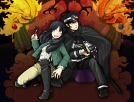 Raidou and Nagi by piyo119
