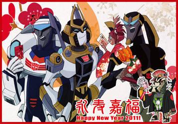 TFA Happy New Year 2011 by piyo119