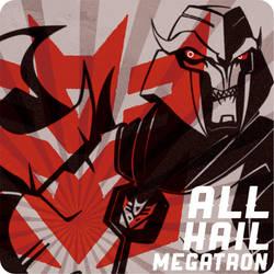 Transformers Prime Megatron by piyo119