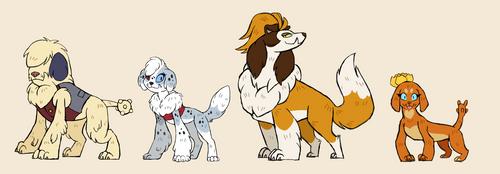 The Shepherd Dogs by SinjaAussiaAngels