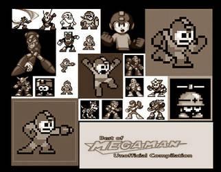 Mega Man sprites v2 by Lan1981