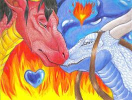 Zutara dragons by Lemguin