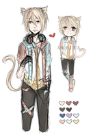 [CLOSED - POINTS/PAYPAL] Sketch Adopt AUCTION by Akeita