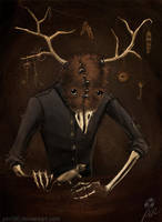 Hello mister Taxidermy by pin100