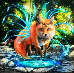 Foxy the spirit by pin100