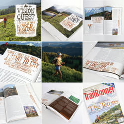 TrailRunner Magazine Editorial by pterisaur