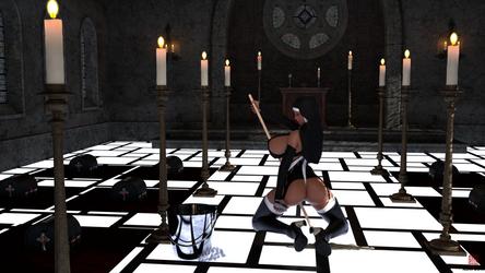 The Hall of Fervent Prayers by AesmaDaeva37