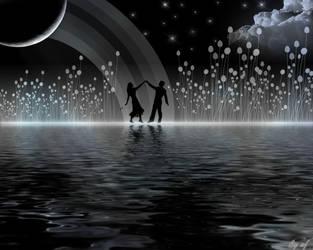Wallpaper: Dancing in Heaven by afmrp