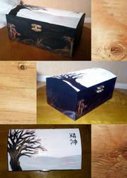 Japanese Style Jewellery Box by Furue
