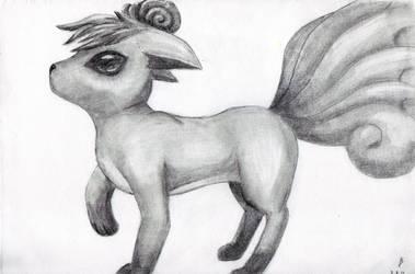 Vulpix Sketch by Furue