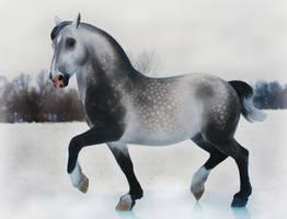 Bacchus in Grey by FriesianFury