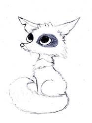 Anime animal by roseie