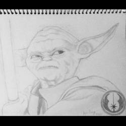 Master Yoda by roseie