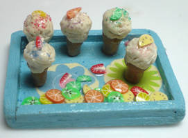 Ice Cream Party by GrandmaThunderpants