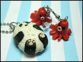Bento Box Jewelry Set by GrandmaThunderpants