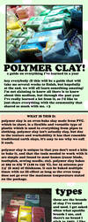 POLYMER CLAY Tutorial Part 1 by GrandmaThunderpants