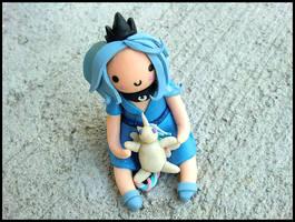 Human Luna + Celestia Doll Figure by GrandmaThunderpants