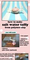 Polymer Clay Salt Water Taffy Tutorial by GrandmaThunderpants