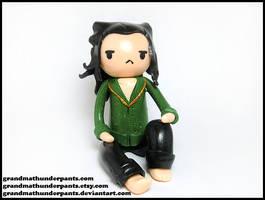 Prison Loki Figure by GrandmaThunderpants