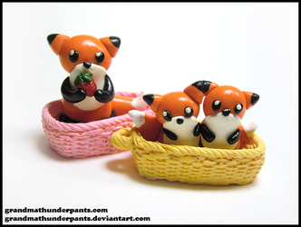 Squashpuffs in a Basket by GrandmaThunderpants