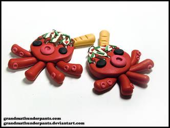 Takoyaki Necklace by GrandmaThunderpants