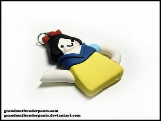 Snow White Tea Pot by GrandmaThunderpants