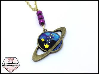 Saturn by GrandmaThunderpants