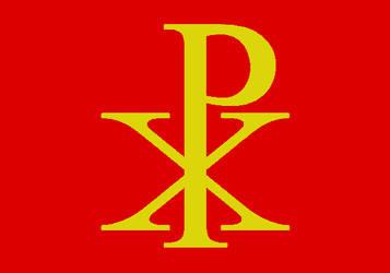 Roman Empire  - Banner of  Constantine by YulianEruannoNoldor