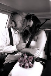 Helicopter Wedding by july-seventeen