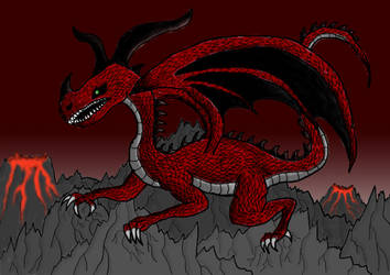 Fire Dragon by Illusion2596