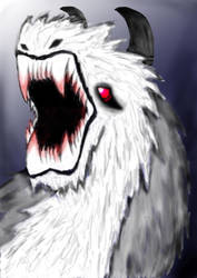 Snow Beast by Illusion2596