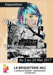 Affiche Expo Vinz Ptite by vinzdream2006