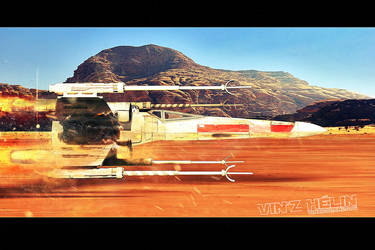 X wing by vinzdream2006