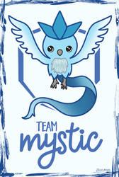 Team Mystic chibi by jaleh