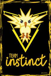 Team Instinct chibi by jaleh