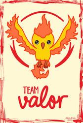 Team Valor chibi by jaleh