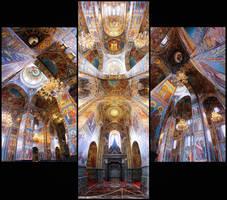 Church of the Savior on Blood by DesteN