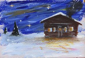 Christmas Hut by olls96