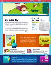 Webdesign: Monte S by Aguiluz