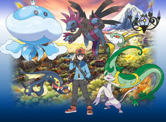 Pokemon Team by Stark-11
