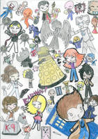 Doctor Who Madness by SpazMuse