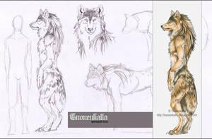 Werewolf form by Tuonenkalla