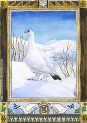 Riekko card by Tuonenkalla