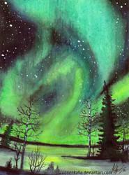 Sky Lights by Tuonenkalla
