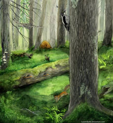 Old Forests by Tuonenkalla
