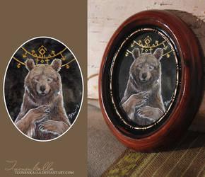 Writings of a Bear by Tuonenkalla