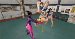 Street Fighter V Passive stretching 2 by serango